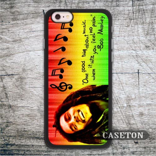Bob Marley One Good Thing About Music font b Case b font For iPod 5 and