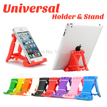 High Quality Multi-funtion Car Mini Desk Station Universal Phone Holder Stand Watch Movies For iphone Pad Mini Samsung Tablet PC