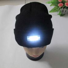 Creative Design LED Lighting Winter Cap Multifunction Cap for Reading Working Special Unisex Hats for Christmas New Year Party