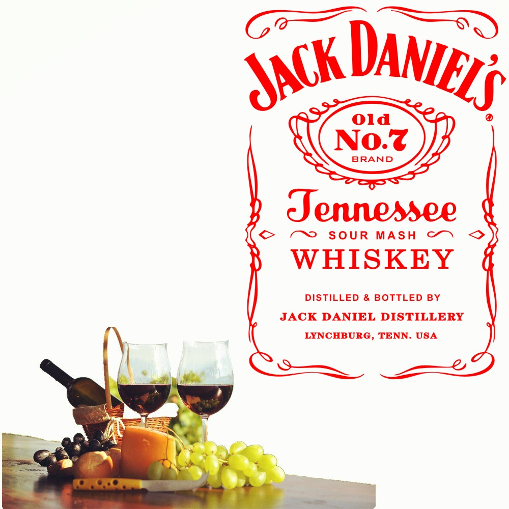 HTB1xSXizf9TBuNjy0Fcq6zeiFXaS - YOYOYU Wall Decals Jack Daniels JD Wall Art Sticker