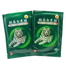 New 16pcs Vietnam White Tiger Pain Relief Plaster Muscle Shoulder Pain Tiger Balm