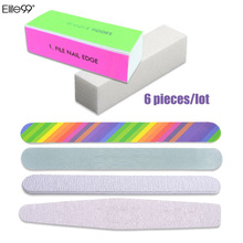 Elite99 Nail Art Shiner Nail Buffers 4 Way Nail File Buffer Polishing Block Sanding Nail Art Pedicure Manicure Tool Kit Set(China)