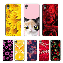 Buy Case Sony Xperia Z1 L39H Girl Phone Case Cover Hard Plastic Phone Bag Sony Xperia Z1 L39H C6902 C6903 C6906 Flower Coque for $3.54 in AliExpress store