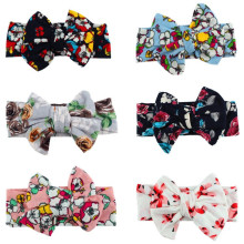 Fashion DIY Headband Baby Head Wrap Children Tie Knot Head band Vintage Headbands Retro Infants Headwear Girl Hair Accessories