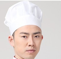 Women Chef Uniform Chef Uniform Sale Cotton Polyester Men Accessories Broadcloth New Fashion Explosion Cooks Cap Pastry Hat(China)