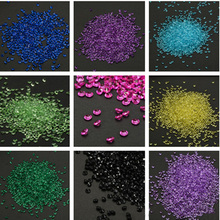 1000PCS 4.5mm Crafts Diamond Confetti Table Scatters Crystals Centerpiece Events Party Festive Supplies Wedding Decoration E0