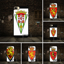 Real Zaragoza FC team logo Cell phone Case Cover For Huawei P6 P7 P8 P9 P10 Lite Honor 3 4 4X 4C 7 V8 For LG G3 G4 G5