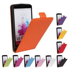 Luxury Genuine Real Leather Case Flip Cover Mobile Phone Accessories Bag Retro Vertical For LG G3 Beat G3 MINI D728 D729 PS