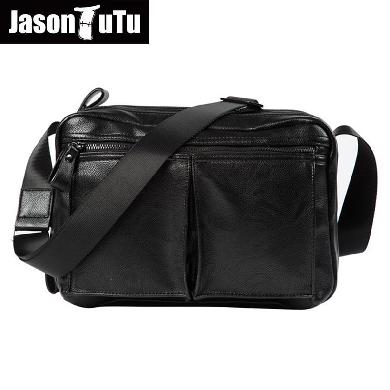 JASON TUTU Crossbody bags for men,High quality PU leather Shoulder bag,Men messenger bag 15-25 days to Moscow Free shipping B481<br>