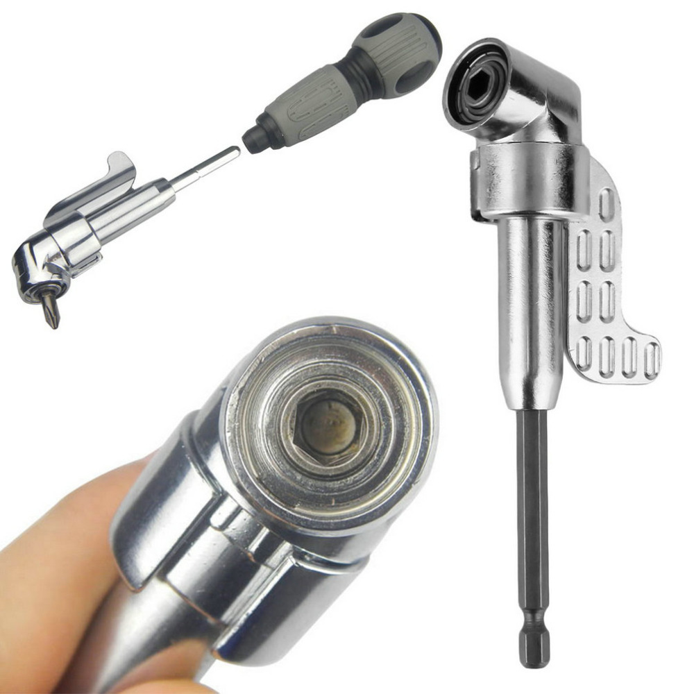 1/4 Inch 105 Degree Adjustable Hexbit Angle Driver Electric Screwdriver Magnetic Bit Wrench Hex Bit Drive Offset Attachment hot<br><br>Aliexpress