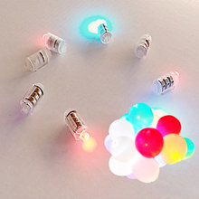 10Pcs/lot Mini Led Balloon Lamp Lights For Paper Lantern Wedding Birthday Children's day Party Souvenir Christmas Decoration S2