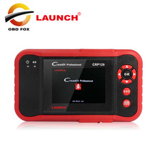 2017 New 100% Original Launch X431 Creader CRP129 ENG/AT/ABS/SRS EPB SAS Oil Service Light resets Code Scanner free shipping(China)