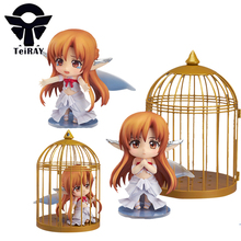 Japan Anime Nendoroid figurines Sword Art Online Yuuki Asuna Sao pvc action figures toy Brinquedos juguetes doll kids gift 4""