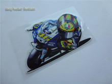 hot VR 46 MOTO GP valentino rossi stickers reflective car-styling motor helmet racing  motorcycle sticker decals for ATV sbk