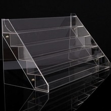 High Quality Clear Acrylic Beauty Makeup Gel Nail Polish Storage Organizer Rack Display Stand Holder Drop Shipping