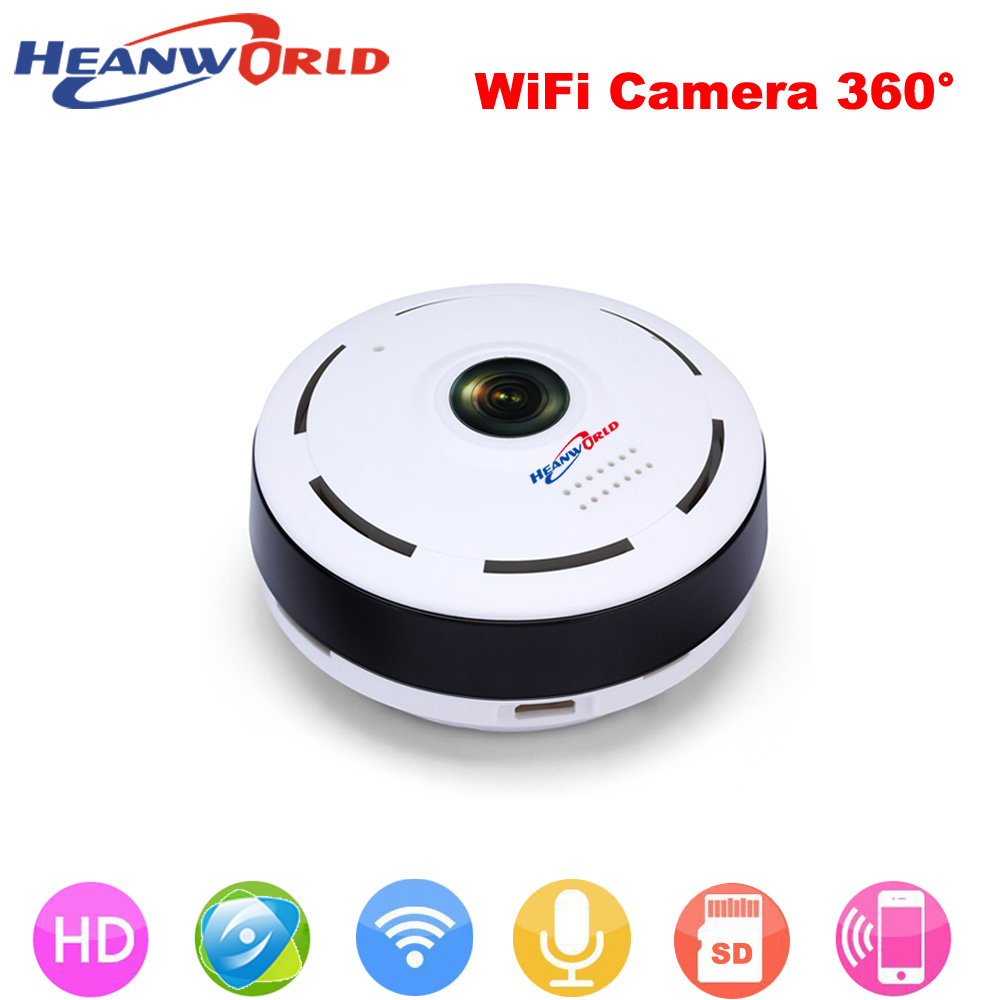 360 Degree smart panoramin webcam Mini wireless IP camera 960P wifi Night Vision support P2P two way audio CCTV IP cam<br>