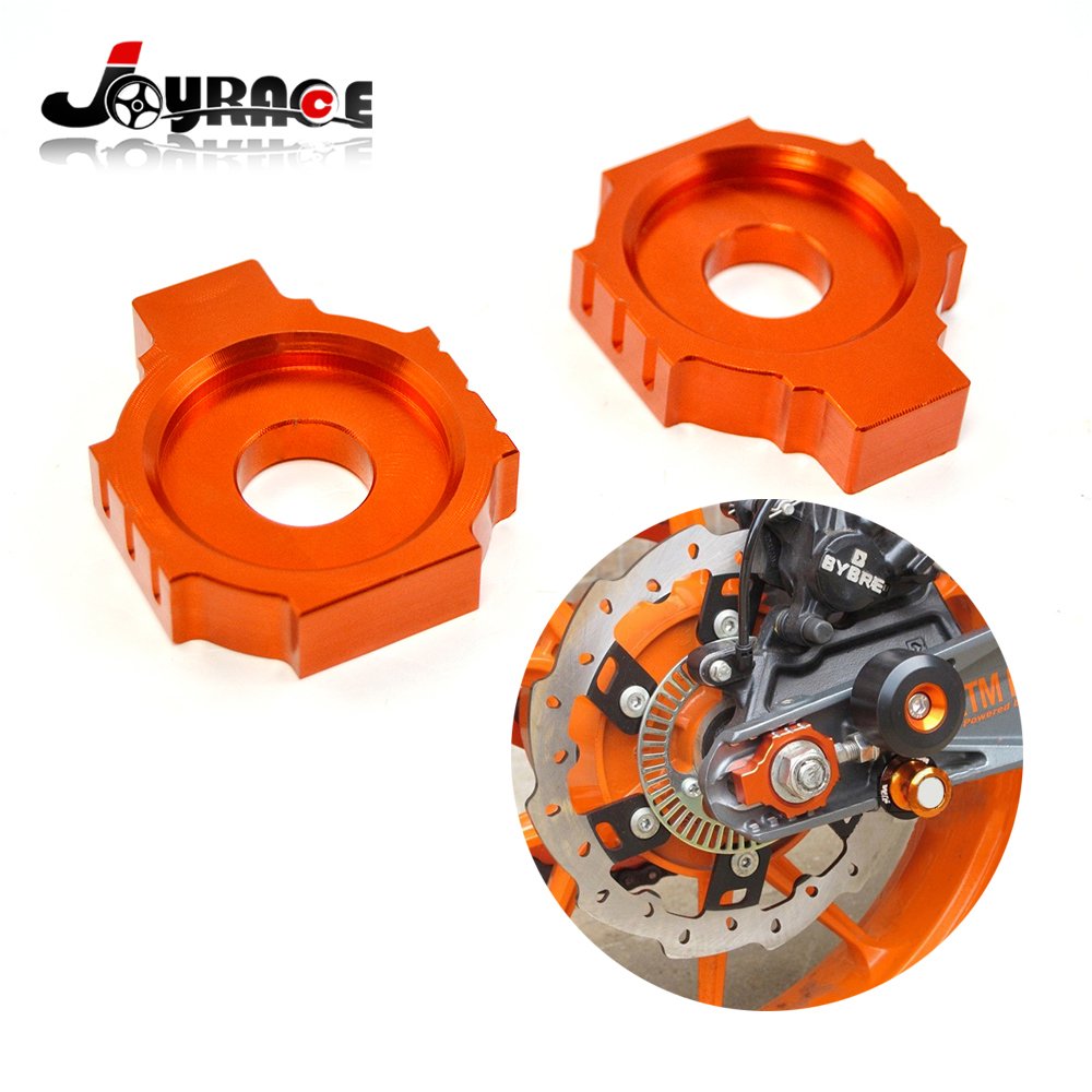 Motorcycle CNC Rear Axle Spindle Chain Adjuster Blocks for KTM DUKE 125/200/390<br><br>Aliexpress