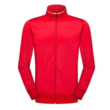 Top Quality Survetement Football Jackets Mens Soccer Uniform Athletics Jogging Training Jacket    6805