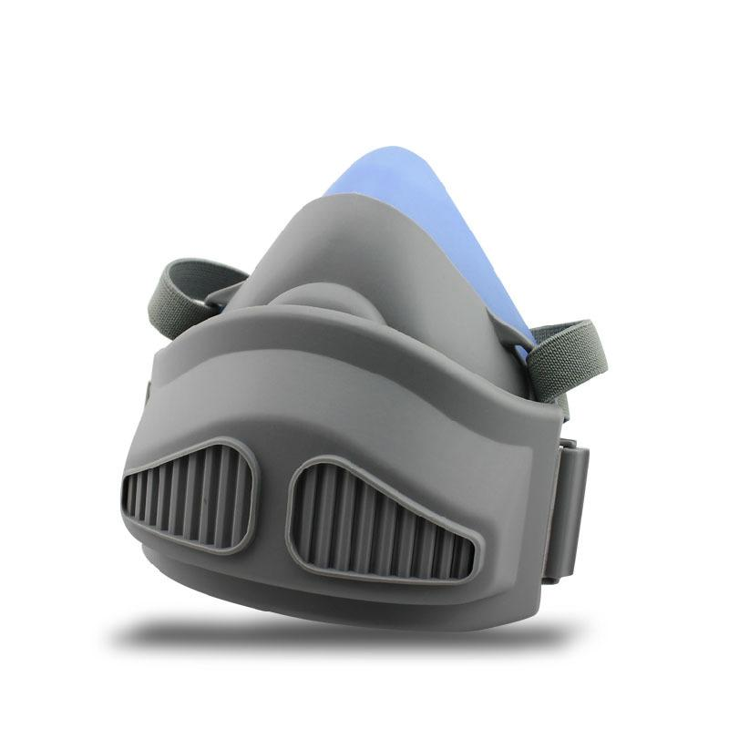 The Silicone Respirator Gas Mask Dust-Proof Anti-Fog And Haze Anti-Particles Anti Fiber Industrial Safety Equipment<br><br>Aliexpress