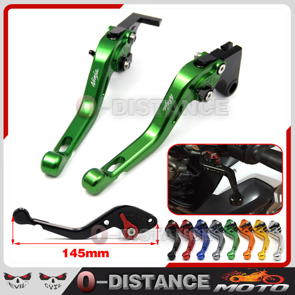 With Ninja Logo For Kawasaki VERSYS 1000 VULCAN/S 650cc VERSYS 650cc 2015-2016 Motorcycle Accessories CNC Brake Clutch Levers<br>