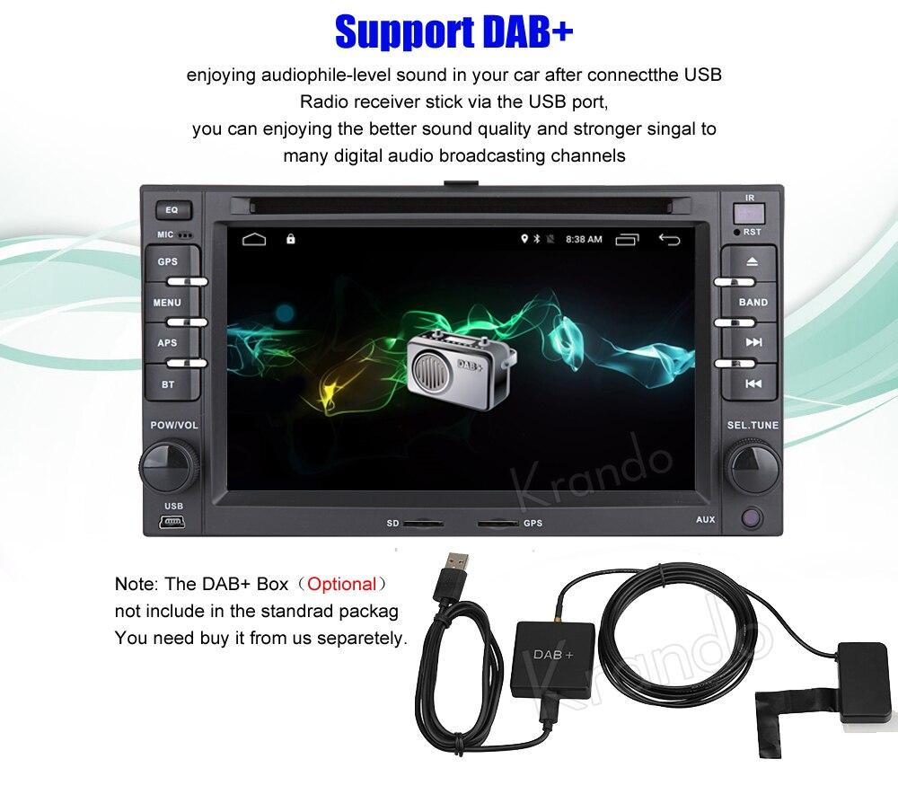 Krando kia ceed sportage Android car radio gps navigation multimedia system (10)