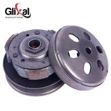Glixal GY6 125cc 150cc Gas Scooter Complete Rear Clutch assembly for 152QMI 157QMJ Moped ATV Buggy Engine(China)