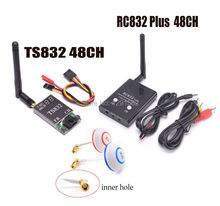 5.8G 600mW 48CH Wireless AV Transmitter and Receiver TS832 RC832 Plus / 5.8G L Shape Antenna FPV High-Gain Clover Mushrooms