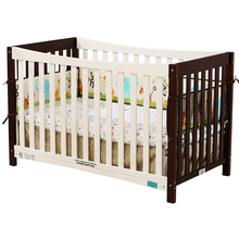 High quality wood multi-function solid wood baby crib baby cot bed,game bed(China)