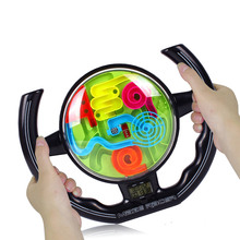 3D puzzles Games For Children Steering-wheel Maze Games For Kids Toys Learning Education