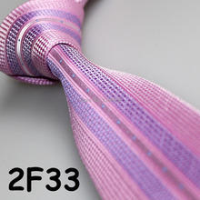 Cheap Sell ! 2017 Latest Style Fashion/Business Purplish Red/Lilac Geometric/Dual Front/Stripe novelty ties for men/paisley ties