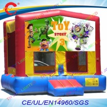 free air shipping,4*4m kids party air moonwalk trampoline,inflatable jumper bouncer,inflatable bounce house