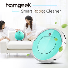 Homgeek Automatic Vacuum Cleaner Smart Sweeping Machine Intelligent Floor Cleaner with Remote Control Vacuum Robot Cleaner(China)