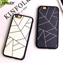 Buy JAMULAR Grid Silk Pattern Simple Phone Cover iphone 6 6s 7 Plus Silicone Case iPhone 8 7 Plus Case Back Cover Fundas for $1.66 in AliExpress store