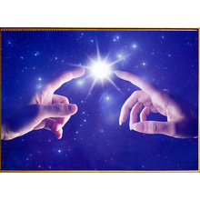 Diamond Painting Embroidery Hot Lucky Star & hand 5D Full Cross Stitch Painting Rhinestone Crafts Gift Painting Wall Decor AS313(China)