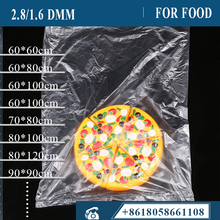 100pcs/bag Film bag PE,LDPE 2.8dmm transparent flat pocket moistureproof dustproof plastic inner bag for box can be customized