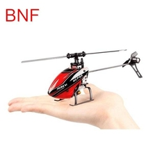 2016 Best Deal Hisky HCP60 2.4G 6CH Mini 6 Axle Gyro Flybarless RC Helicopter BNF RC Toys Mini Helicopter