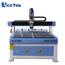 Vacuum table machinery for furniture woodworking cnc router 1200*1200 cutter for acrylic plastic aluminum(China)