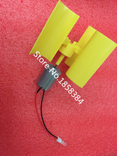 Miniature vertical axis wind Alternative Energy generator DIY technology making physical power principle