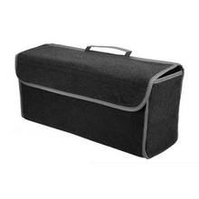 Multipurpose felt Cargo Trunk Organizer Car SUV Storage Console Collapsible Car Repair Washer Tools Bag(China)