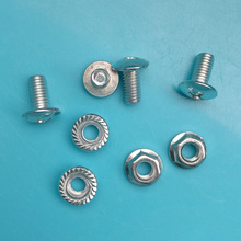 200pcs/lot Network cabinet cabinet accessories M6 screw nut screw nuts standard rack screws(China)