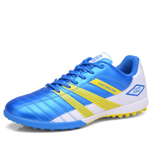Football Shoes Children Cheap Ladies Football Trainers Blue/Green Turf Soccer Shoes For Men Hot Sale Football Boots Discount
