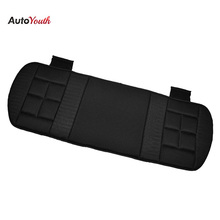 Back Car Seat Cushions Classic Black Memory Foam Breathable Mesh Fabric Fit Most Car Seat Covers Interior Accessories(China)