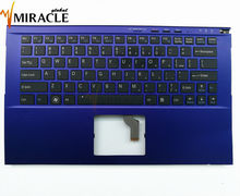 Repair You Life US keyboard for Sony SVZ13 SVZ13115FCB SVZ13117FCX SVZ13119GCXI with c shell Cover Genuine NEW keyboard(China)