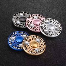 Buy Pearl Round Wheel Aluminium Hand Spinner 27 Pcs Pearls Rotation Time Long Hand Spinner Torqbar High Speed Anti Stress Toy for $9.63 in AliExpress store