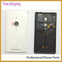 Original OEM for Nokia Lumia 925 Battery Housing Door Back Cover Replacement, with logo