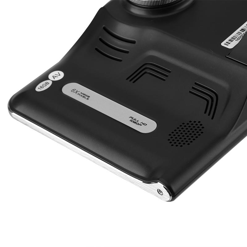 Car DVR Dash Cam - Anti-Radar Detector, GPS Navigation, Android OS, Quad-Core CPU, 7 Inch Display, WiFi, 1_2.5 Inch CMOS20170323_0147