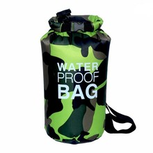 Outdoor Sports Waterproof Bag Waterproof Bucket Beach Camping Clothing Storage Bag for Swimming Diving Drifting 10L 15L(China)