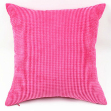 Vintage Big 55X55cm Home Throw Pillow Case Cotton Linen Cushion  Living Room Bed Chair Seat Cushion Pillowcases