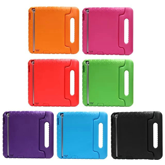 Free shipping EVA Children Kids Proof Thick Foam Cover Case Stand with Handle for iPad2 for iPad3,4 Stand Case Cover,7Colors<br><br>Aliexpress