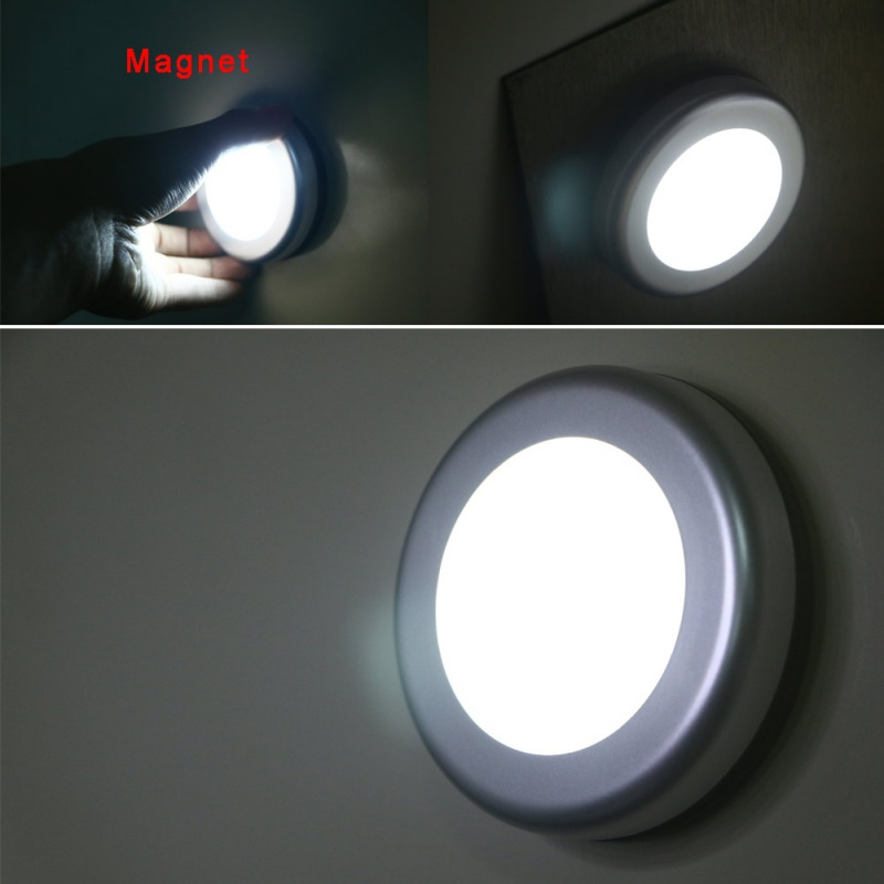 Intelligent Wireless Infrared Motion Sensor Lamp Magnetic Activated Night Light 6LED Closet Corridor Cabinet Induction New Lamp